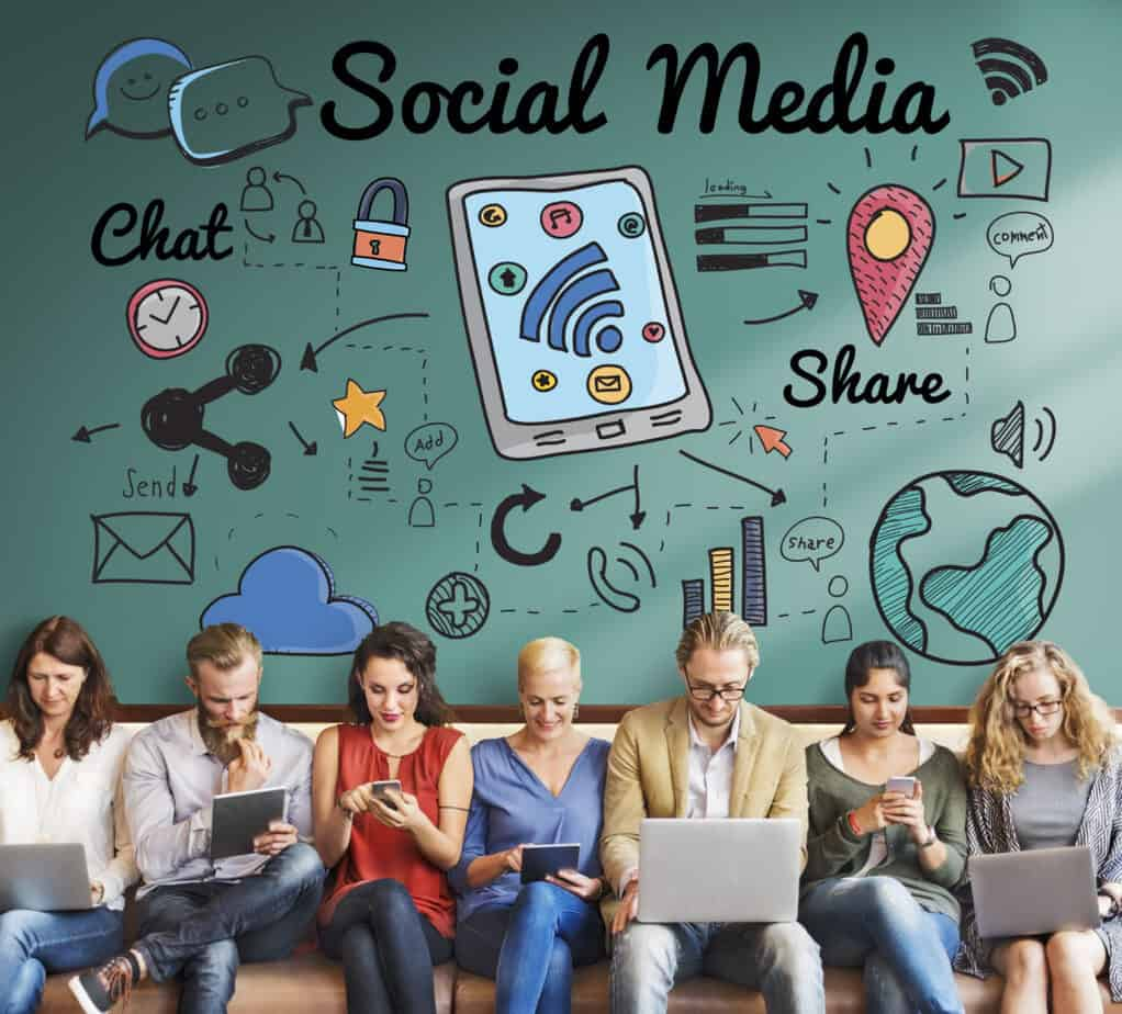 1. Target Audience Presence on Social Media: