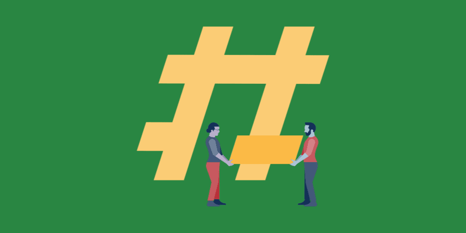 Utilize Industry Hashtags