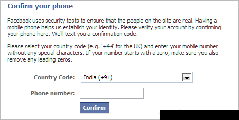 Verify with phone number