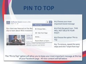 pin to stop