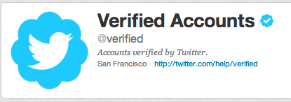Twitter Account Verification