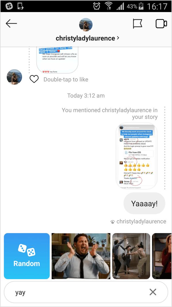 Instagram Conversations