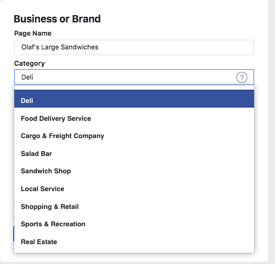 cool name for your Facebook page