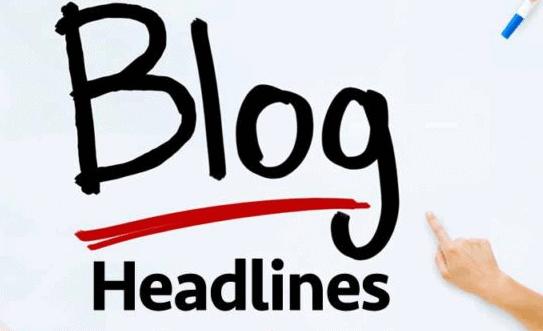 The Headline of blog