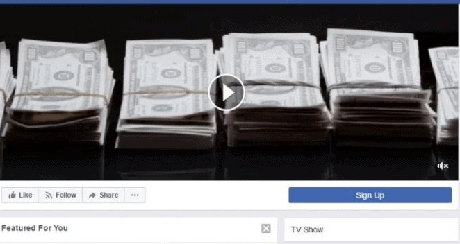 Try a video on facebook cover