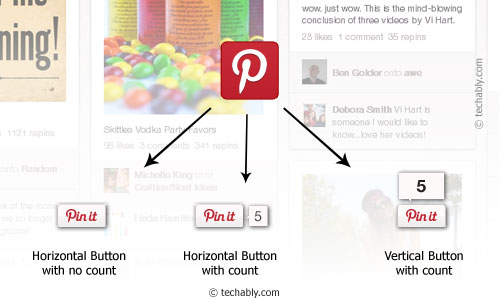 Pin-it Button to Your Site