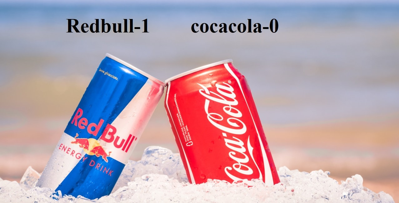 redbull and cocacola