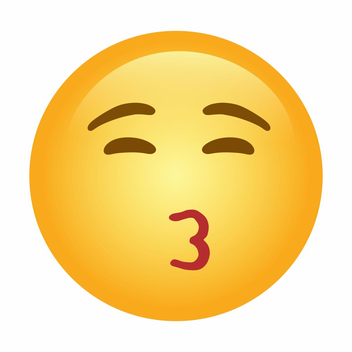 😙 - Pouting Face