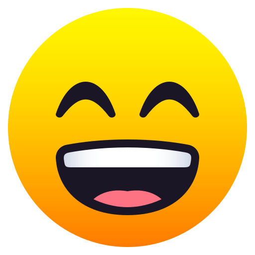 Smiling Face with Squinting Eyes