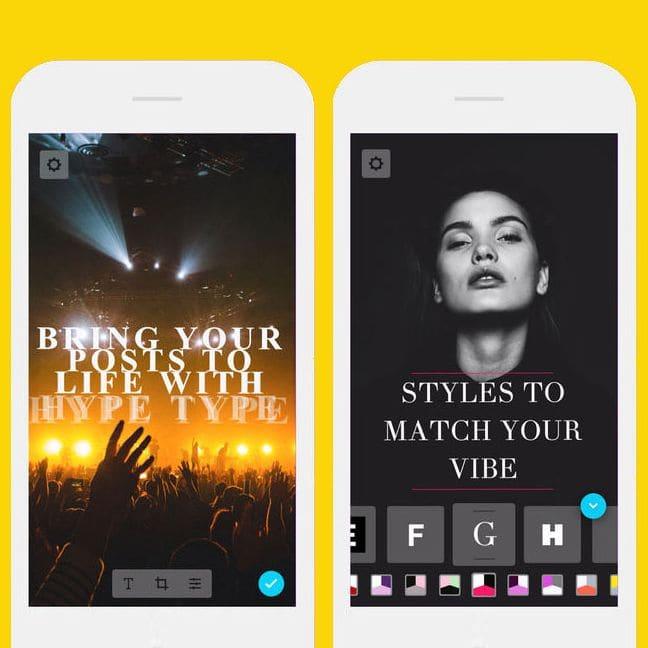 Hype-Type App
