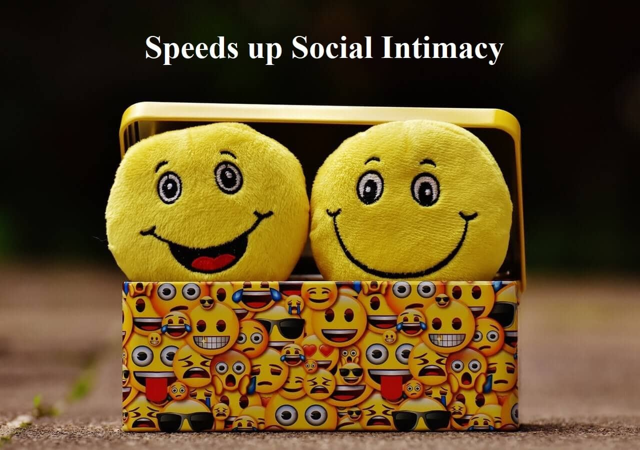 Speeds up Social Intimacy
