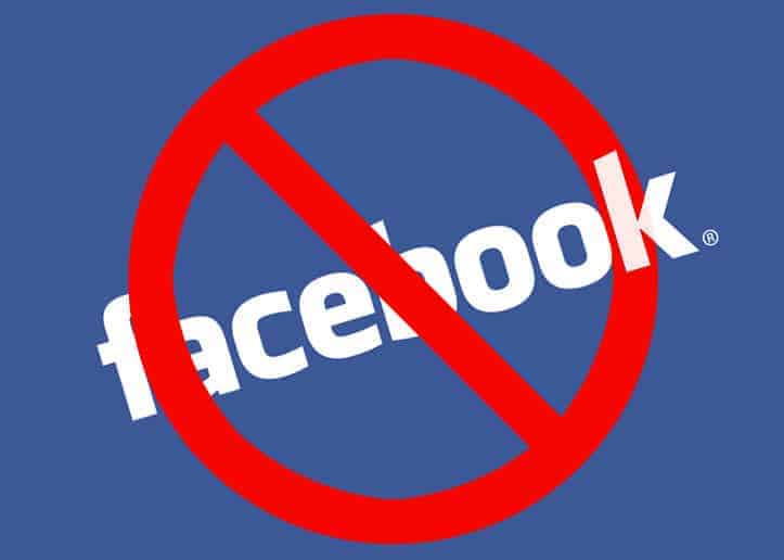 Banning on facebook page