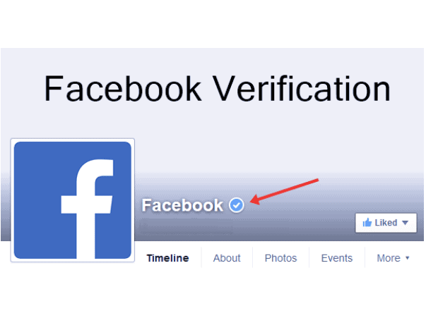 Get your Facebook page verified