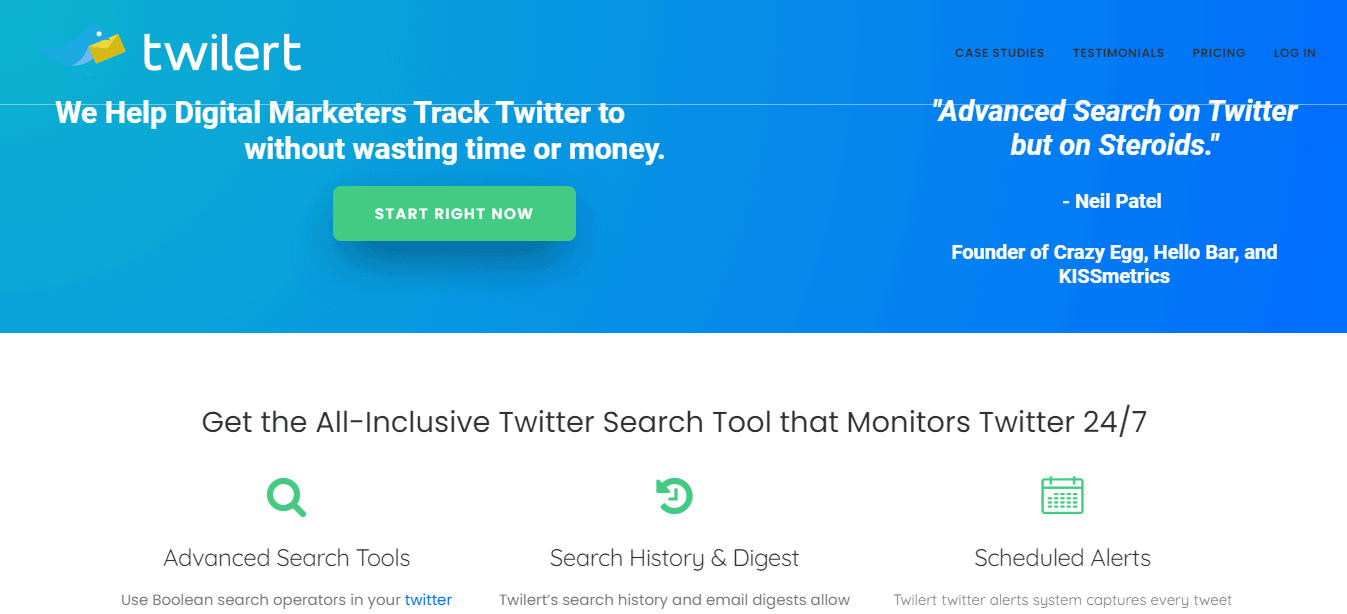 Twilert: Free Twitter Tools & Apps