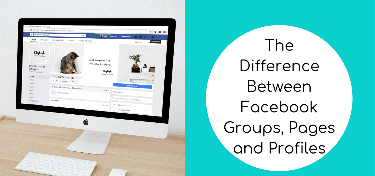 Knowing the Difference Between a Facebook Group, Page, and Profile