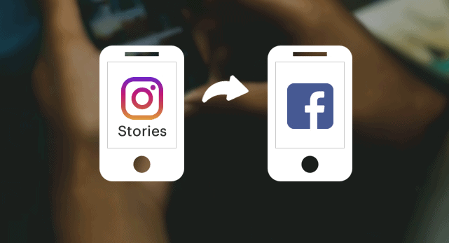 share insta story to facebook