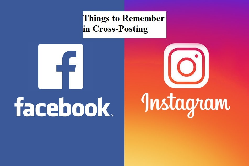Things to Remember in Cross-Posting