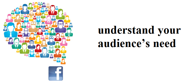 understand your audience's need