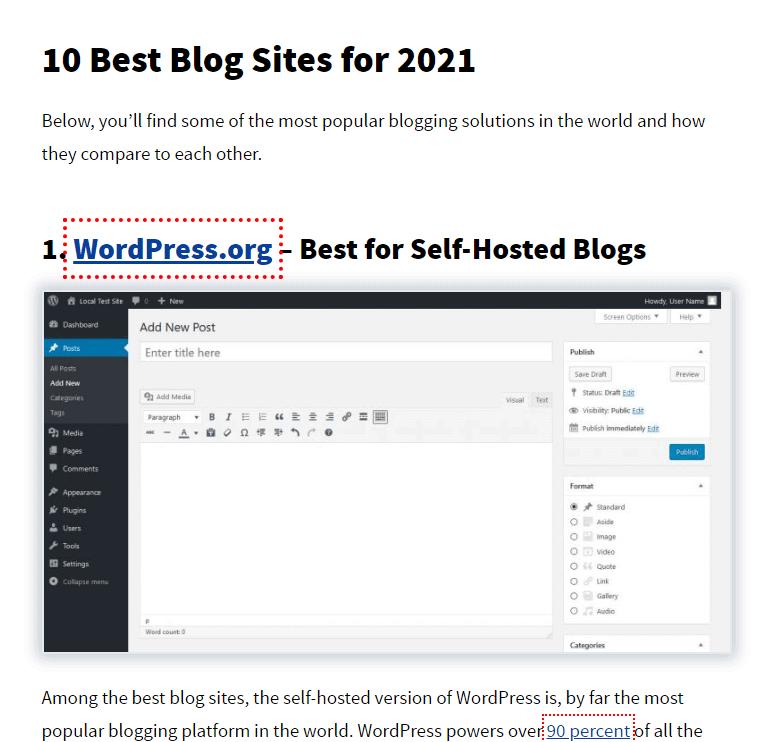List of Favourite Websites