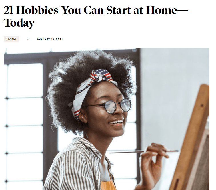 Hobbies You Can Pursue At Home