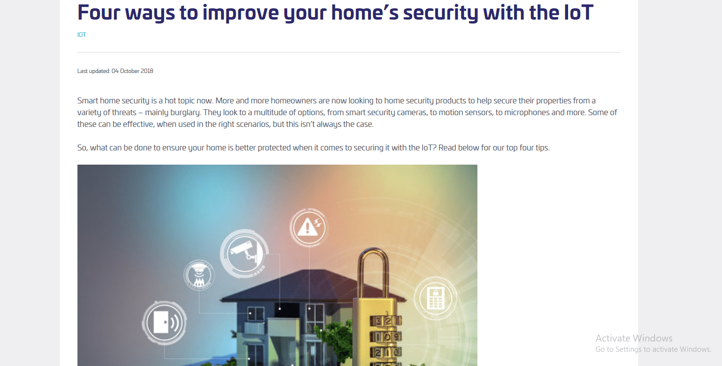 How to Improve Home Security
