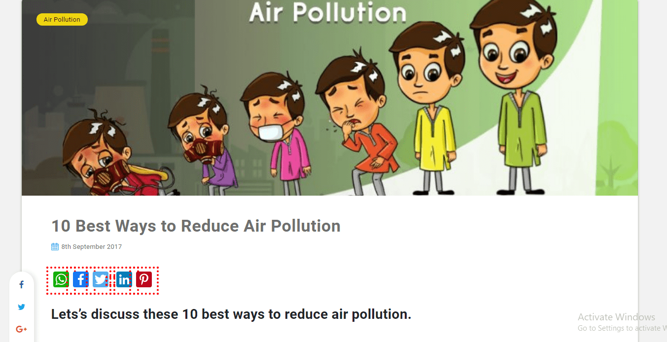 5 Ways to Reduce Pollution