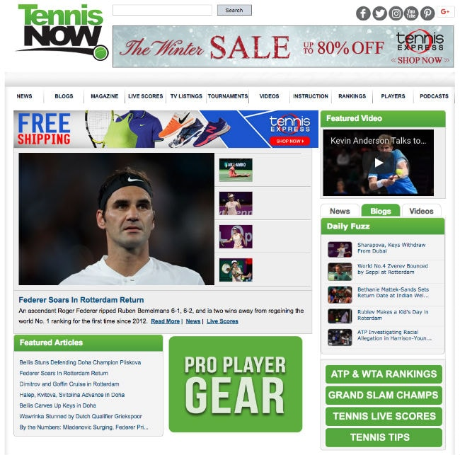 Blogs on Famous Sporting Events