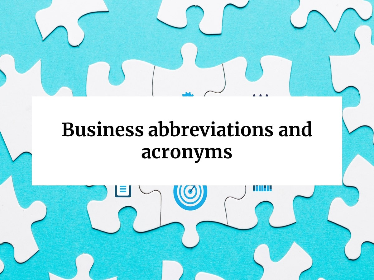 Business Acronyms