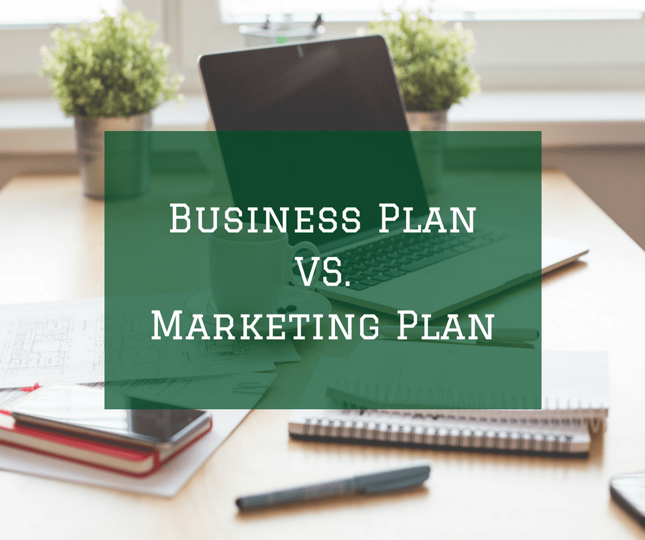 Differentiate Between Business Plan and Marketing Plan