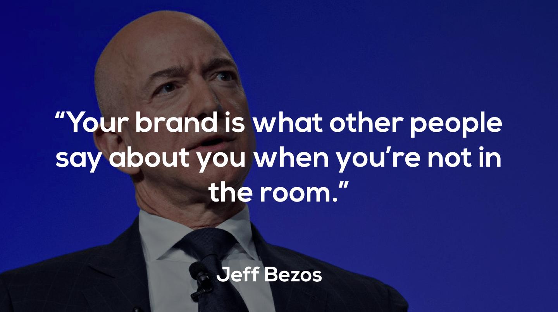 Jeff Bezos, the founder of Amazon