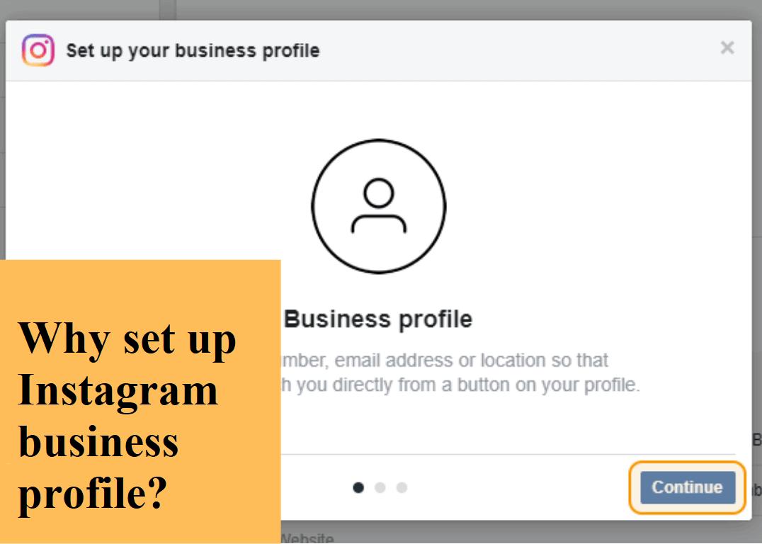 Setup Instagram Business Profile