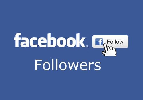 Followers on Facebook