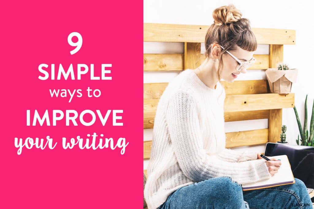 Ways to Improve Writing Skills