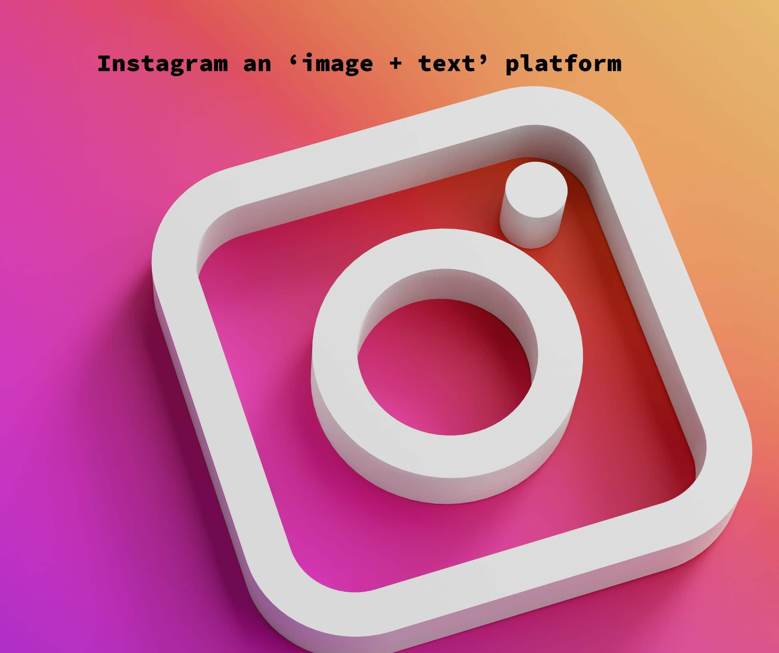 Should Text Be On Instagram Image