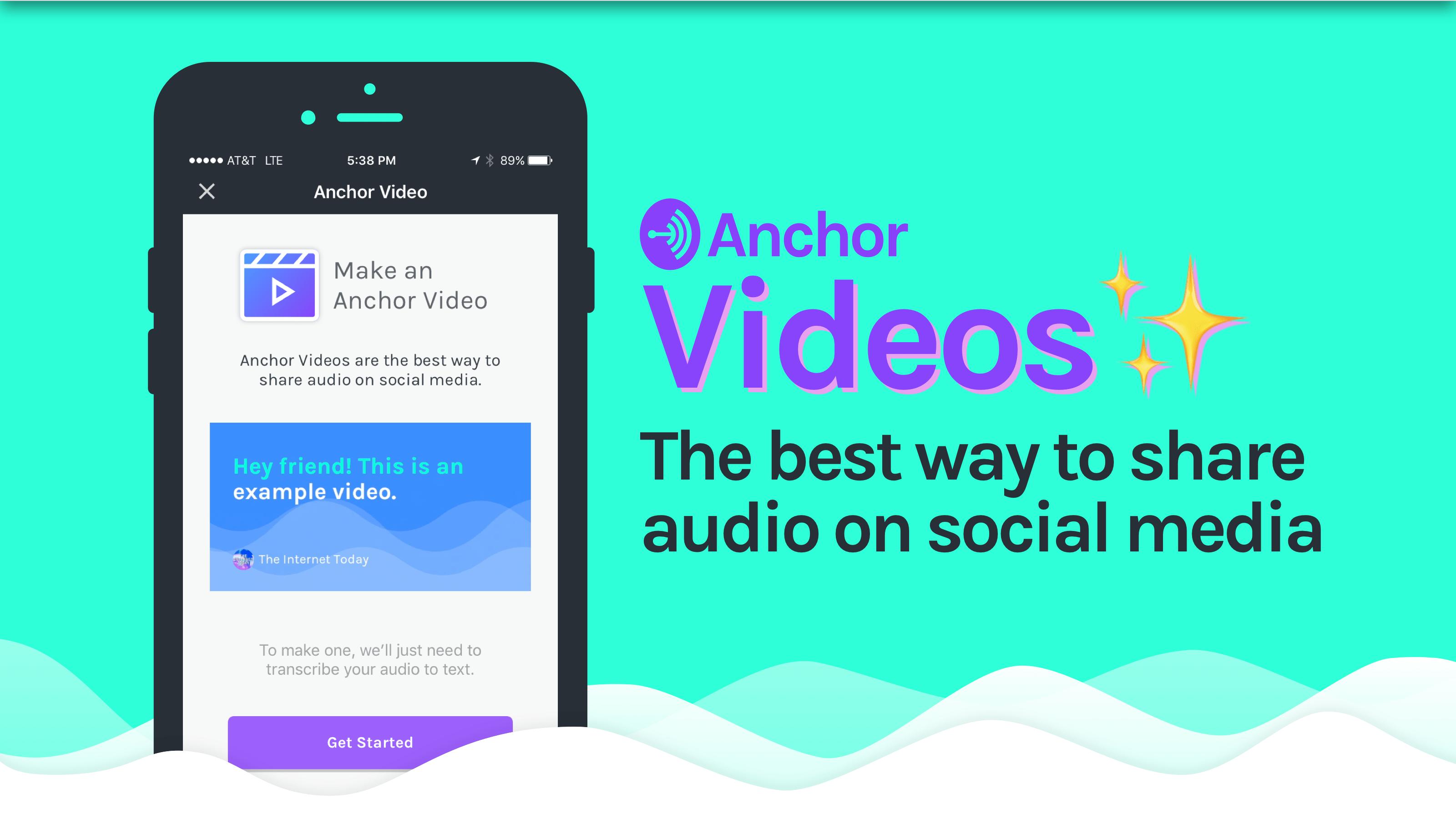 Anchor Videos