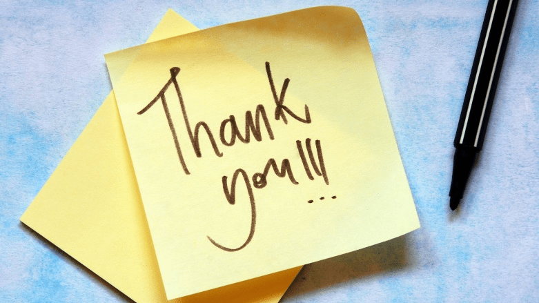 Express Gratitude to Readers