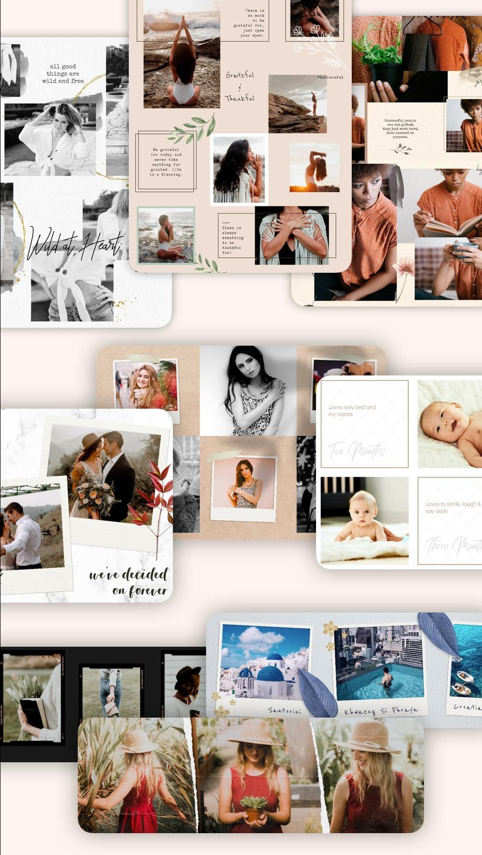 Puzzle Collage Template