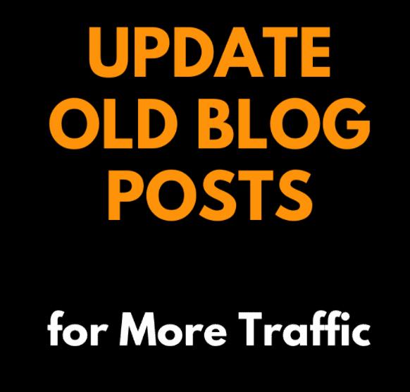 Update Old Blog