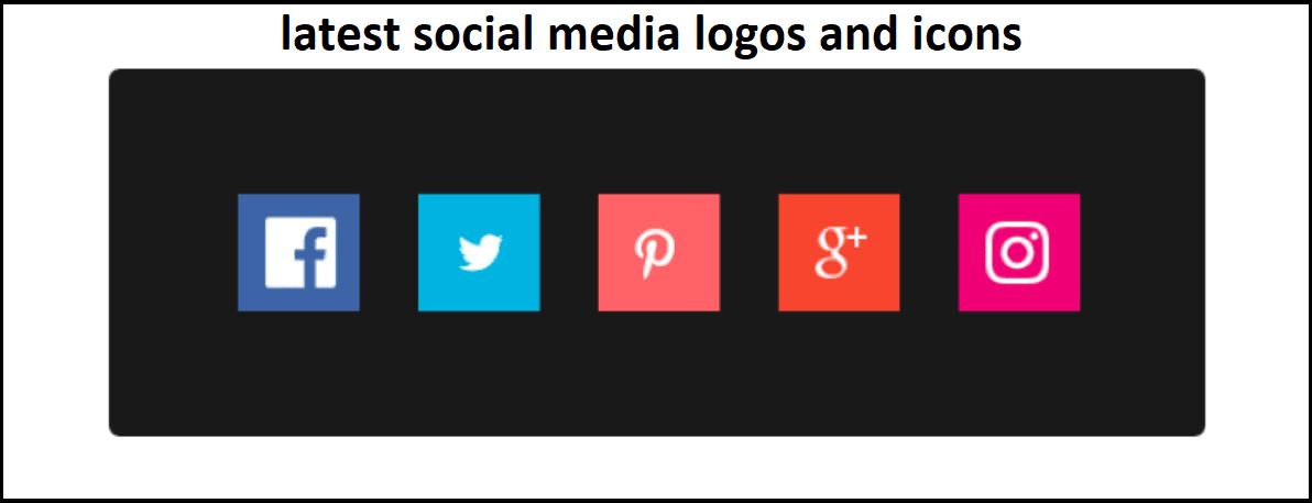 latest social media logo