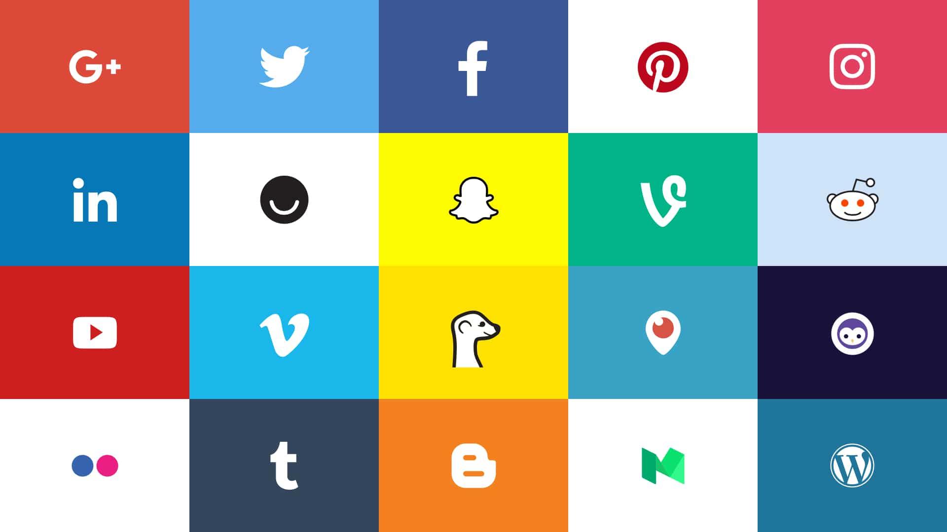 Social Media Logo and icons