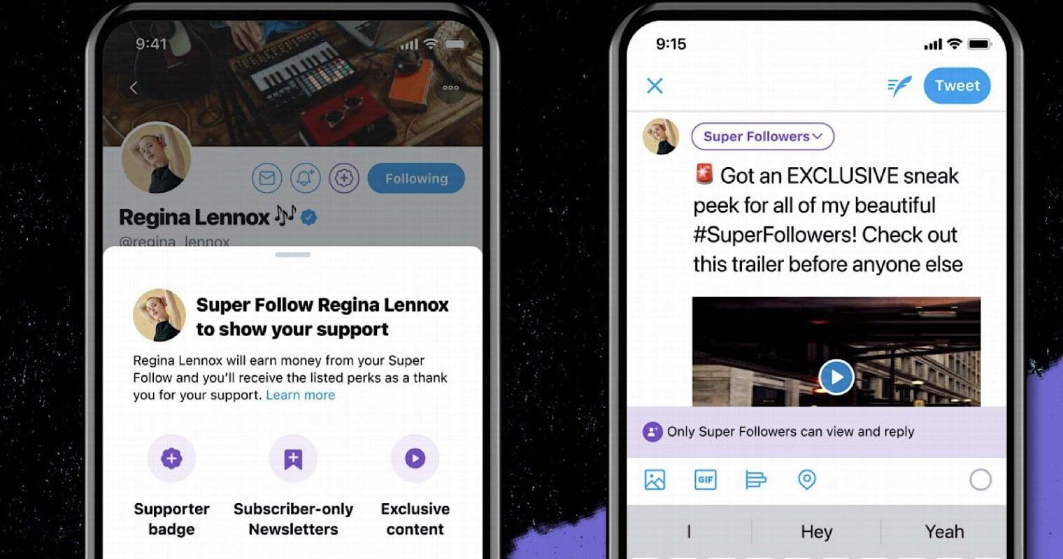 Twitter's 'Super Follow' initiative