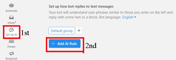 Add AI Rule