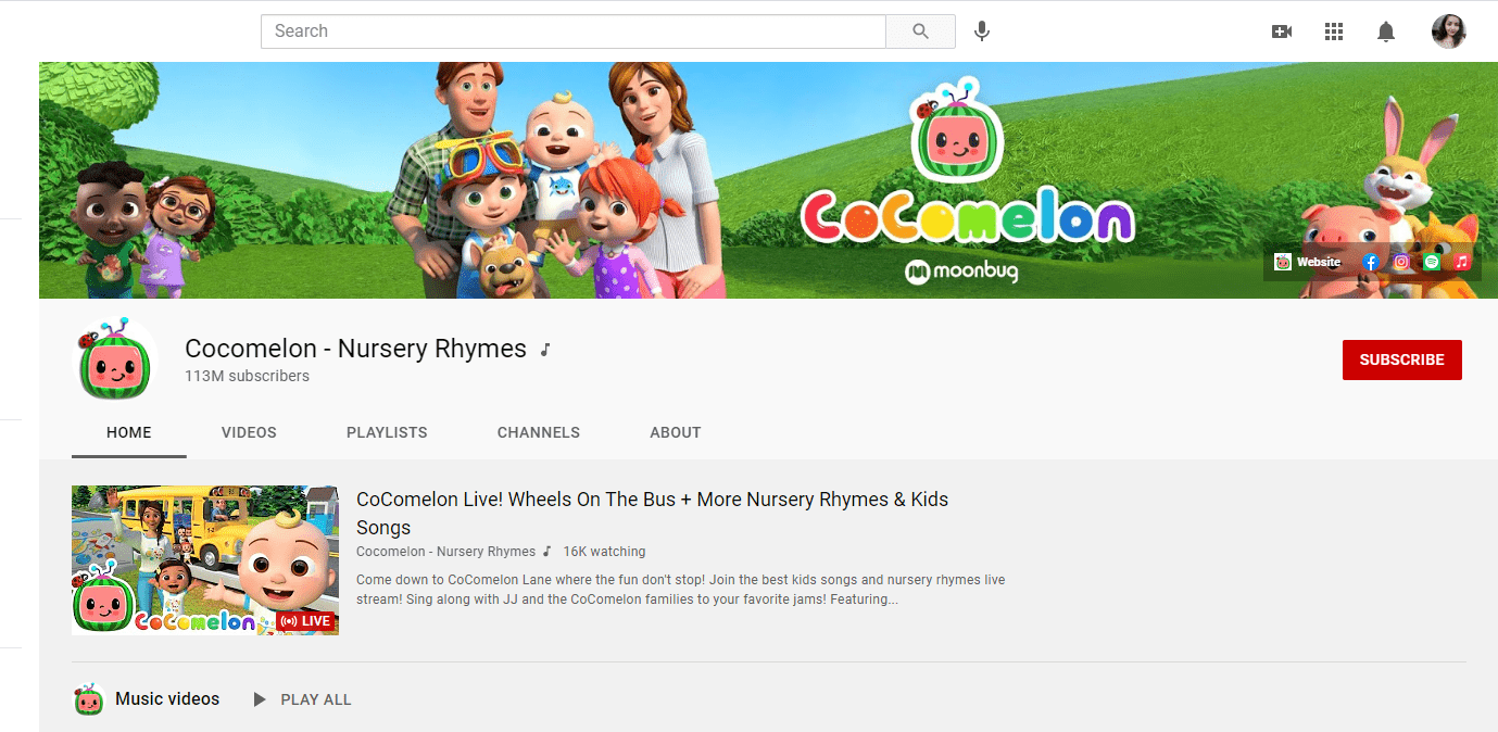 Cocomelon – Nursery Rhymes