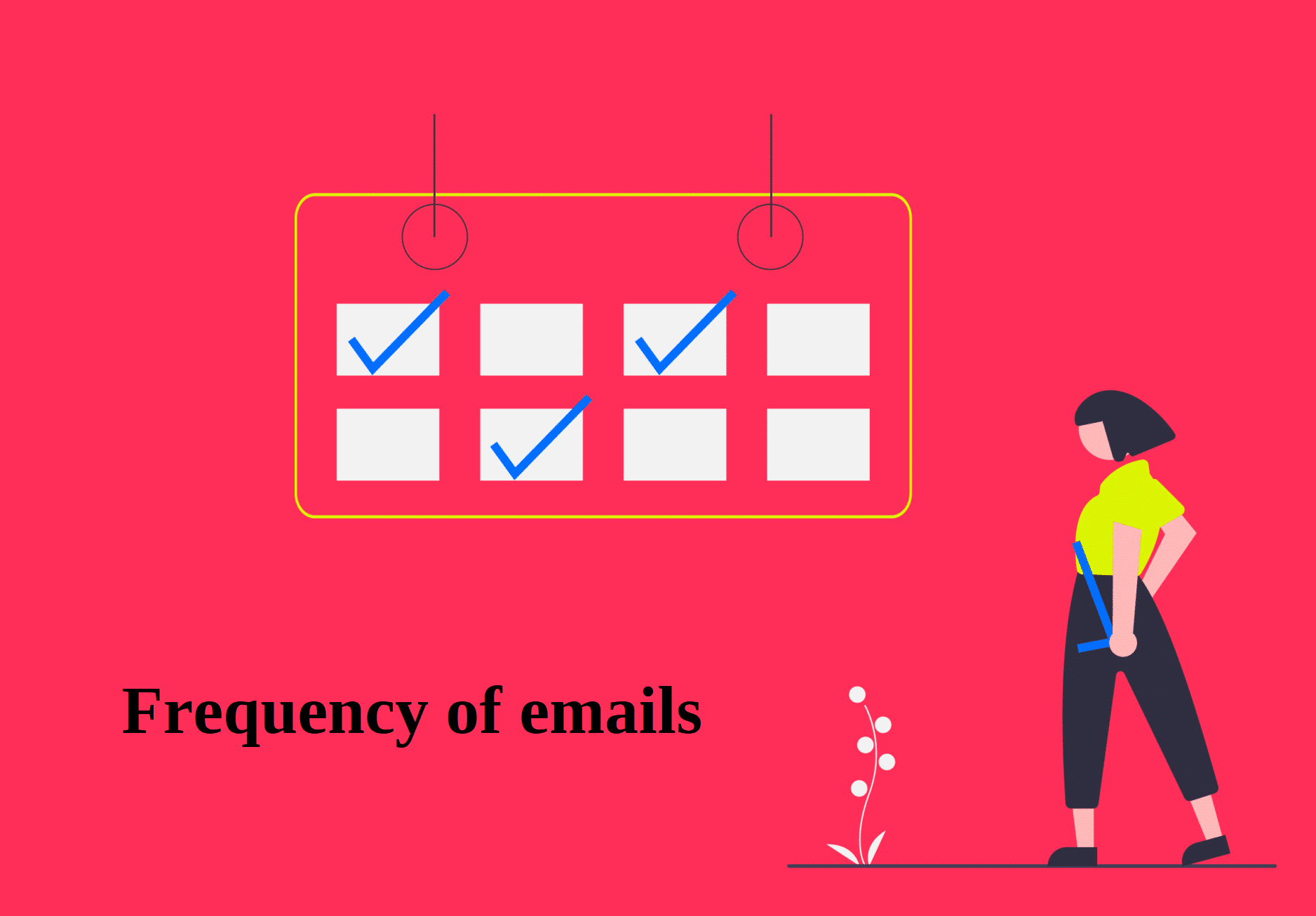 Frequency of emails