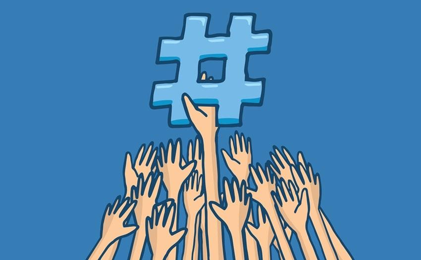 How do hashtags help?
