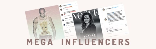 Mega Influencers