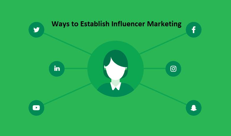 Ways to Establish Influencer Marketing