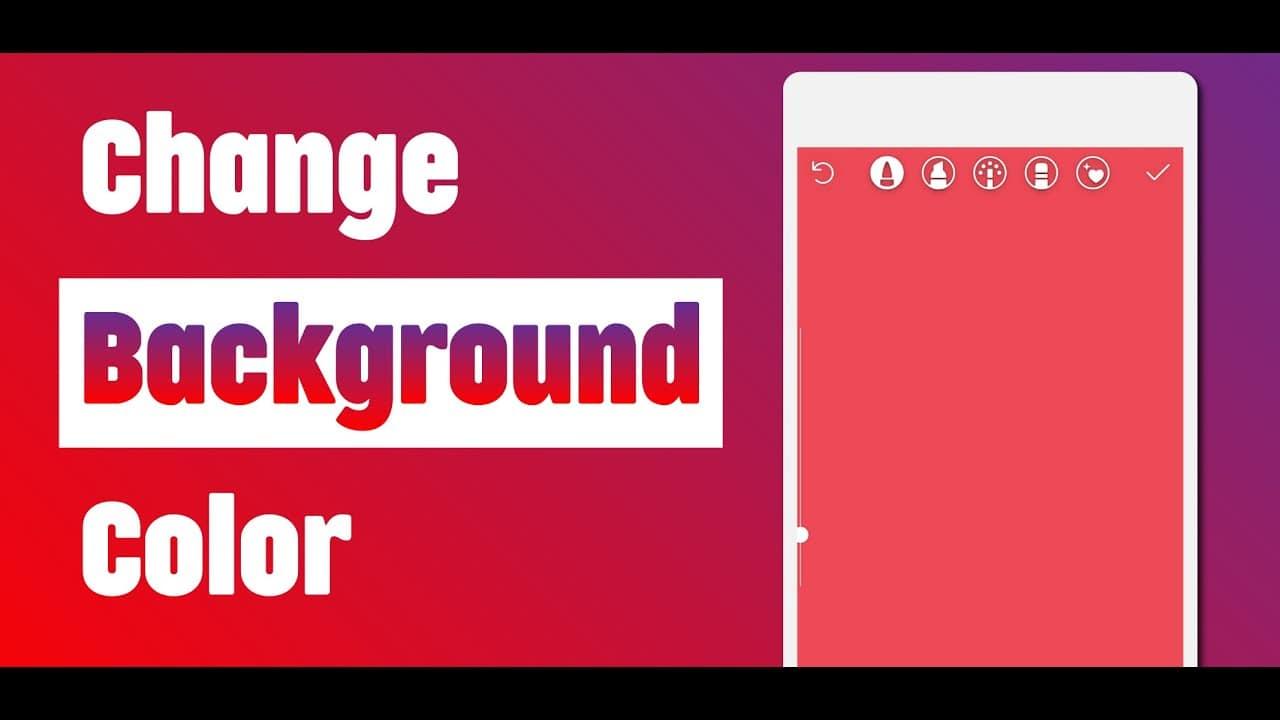 Change Background Color of Instagram Story