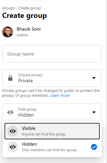 Private and Hidden