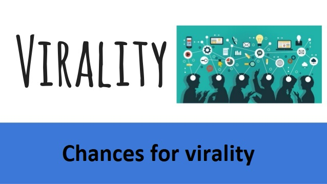 Chances for virality